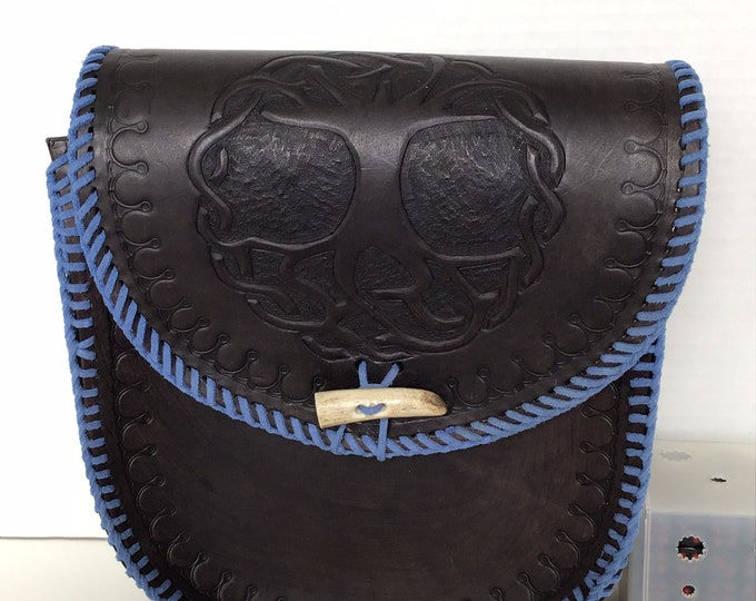 Ready to Ship - Handcrafted Leather Purse
