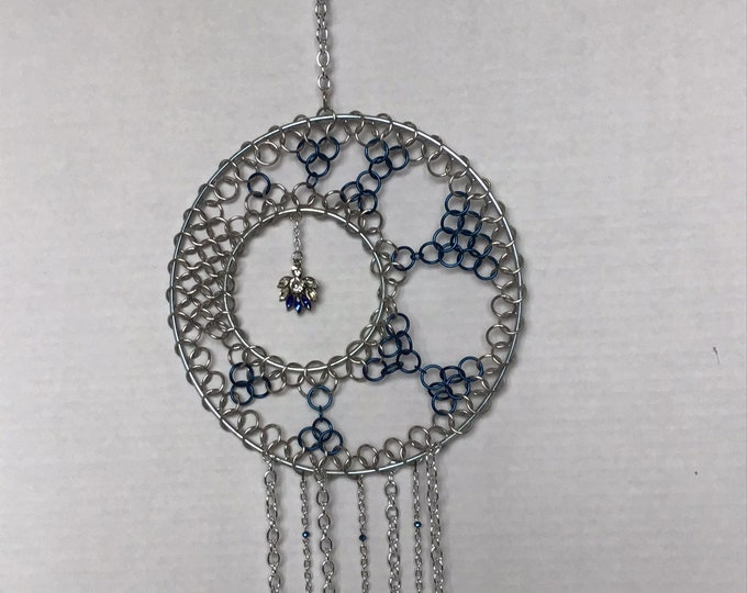 Ready to Ship : Chainmaille Dreamcatcher