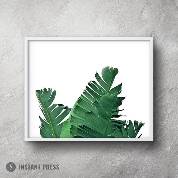photograph regarding Palm Leaf Printable named Banana leaf printable, Palm leaf wall decor, Banana leaf print, Palm leaf prints, Palm leaf wall artwork, Banana leaf print, Tropical decor