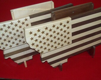 Cutting Board - USA or State Flag - Custom by JMH Limited Editions
