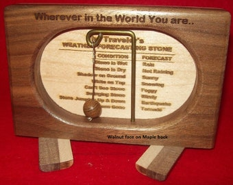 Weather Forecasting Stone - Travel-Size - Custom by JMH Limited Editions