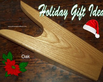 Oak Bootjack - Solid Hardwood Shoe Remover / Boot Jack - Custom by JMH Limited Editions