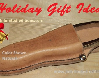 Leather Pliers Holster - Belt Loop Style -  Custom by JMH Limited Editions