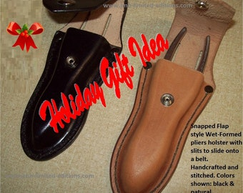 Leather Pliers Holder - Belt Loop Style with Snap - Custom by JMH Limited Editions