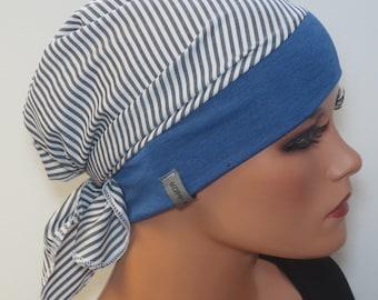 MÜTZE//BEANIE sommerlich bunt   Kopfbedeckung bei Chemotherapie Chemomütze  M1