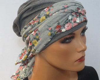 geflochtenes Stirnband Chemo Mütze Kopf /& Kragen SET MÜTZE//BEANIE 2-tlg