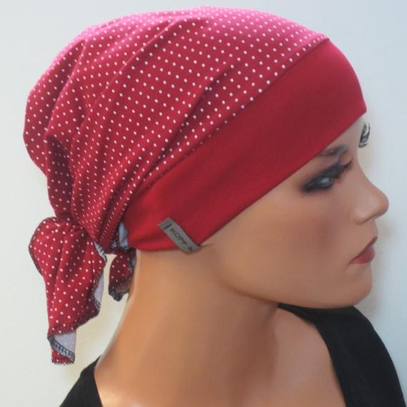Einzigartige Kopftuchmütze//Chemomütze  bequem Kopf /& Kragen Design Turban Chemo