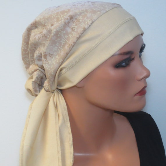 Kopfbedeckung Für Chemo Krebs Kopftuch Mega Leicht Luftig Etsy