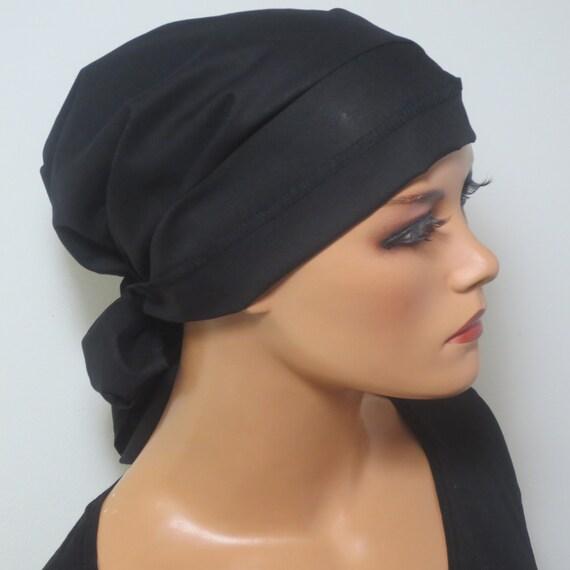 Kopfbedeckung Für Chemo Krebs Kopftuch Mit Langen Bändern Etsy
