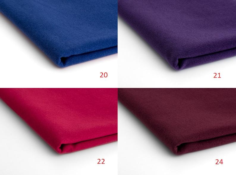 Flaush imitation wool fabric  50 x 150 cm
