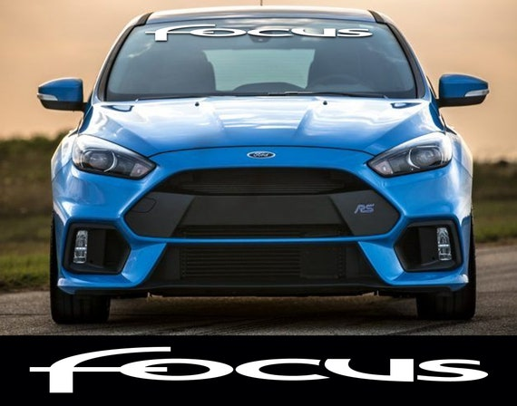 Ford Focus Windschutzscheibe Aufkleber Aufkleber Kleber Se Benzinmotor Zx3 Zx5 Rs St