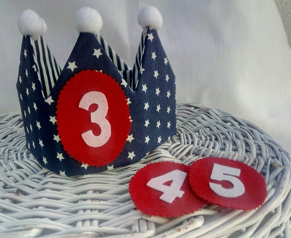 Fabric Crown For Birthdays Birthday Party Gift