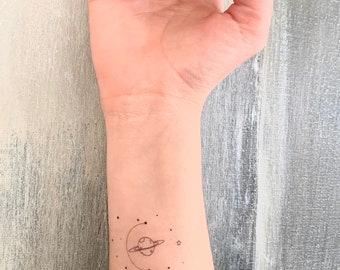 Galaxy/Universe - Temporary Tattoo