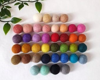 Custom Pom Pom Garland - Felt Ball Nursery Decor