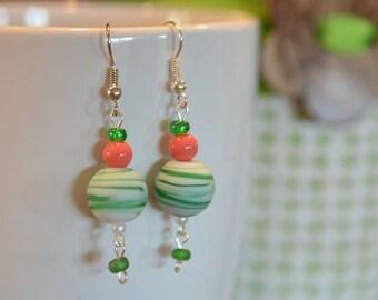 8th pair of Lorraine's Earrings in the Summer Series