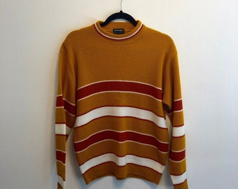 Vintage 60s 70s Striped Sweater a10c27860