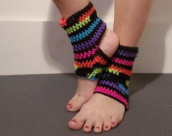 Häkeln Yoga Socken Tanz Socken Häkeln Yoga Bein Stulpen Etsy