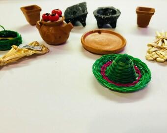 Mexican Mini Ceramic Decoration