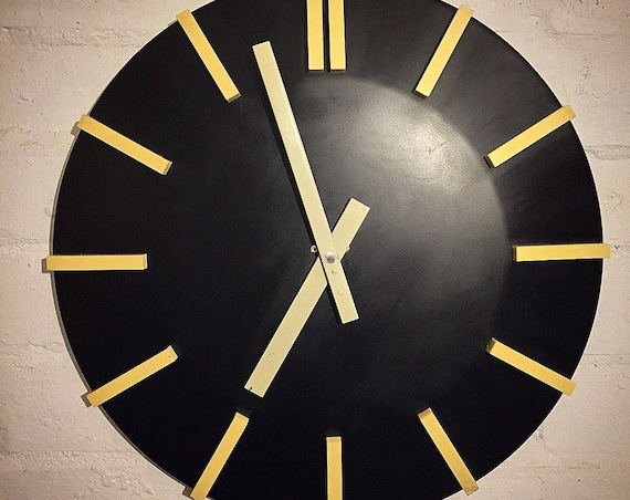 1960's Modernist Clock By Czechoslovakian Makers Pragotron
