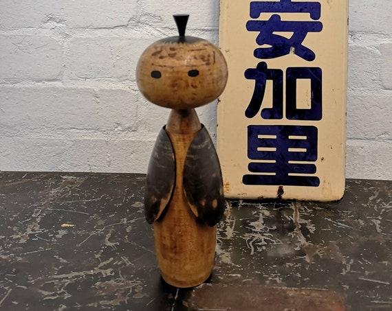 Vintage Japanese Sosaku Creative Kokeshi Doll #216