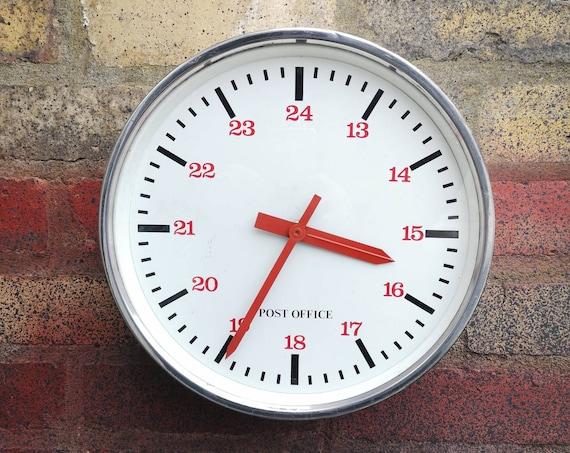 1960s British Made Royal Mail Post Office Clock