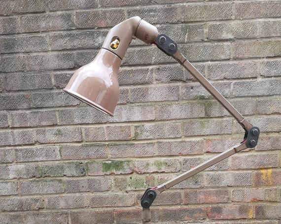 1930s Industrial Task Lamps By Mek Elek London