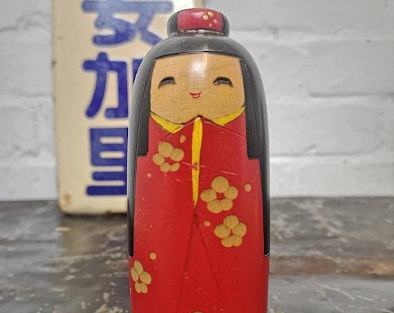 Vintage Japanese Creative Kokeshi Doll #206