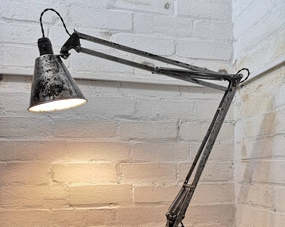 Rare Prototype 1930s Anglepoise Model 1208 Table Lamp By George Carwardine For Herbert Terry & Sons