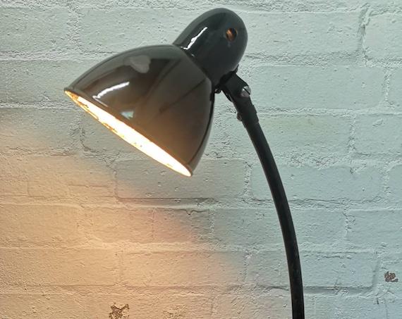 BAUHAUS 1930s Jacobus No 2268 Enameled Desk Lamp By Jacobus Zwickau Germany