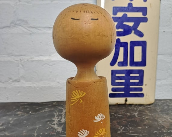 Vintage Traditional Japanese Creative Kokeshi Doll #234
