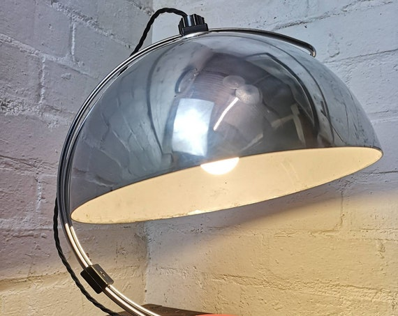 1970s East German Space Age Sliding Dome Table Lamp