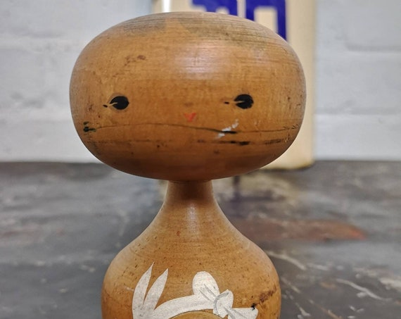 Vintage Traditional Japanese Creative Kokeshi Doll #223