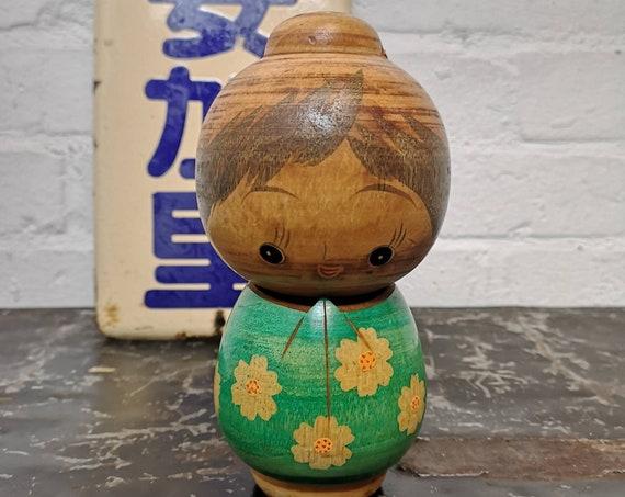 Vintage Japanese Creative Kokeshi Doll #213