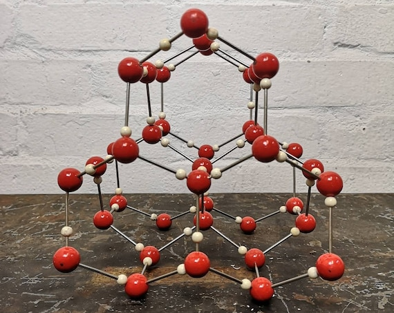 1960s Molecular Model Of Ice By Leybold