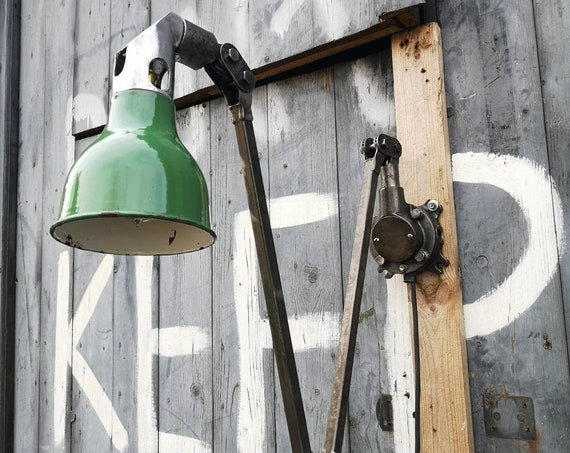 1950s Industrial Task Lamp By MEK ELEK London
