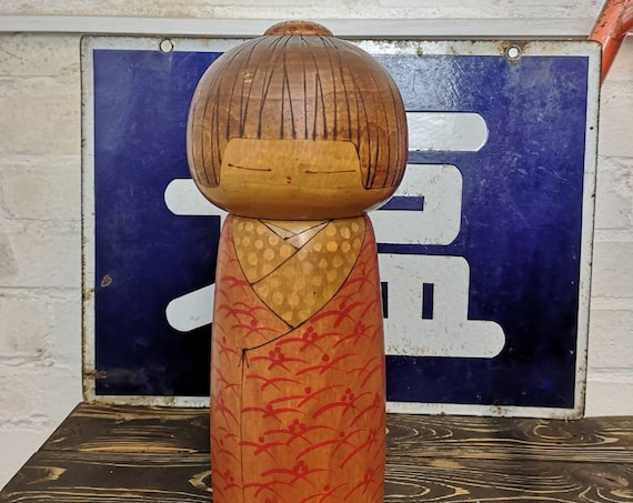 Exclusive Vintage Japanese Creative Kokeshi by Toa Sekiguchi #111