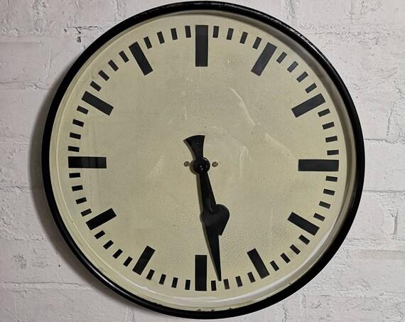 1940s Large German Station Clock
