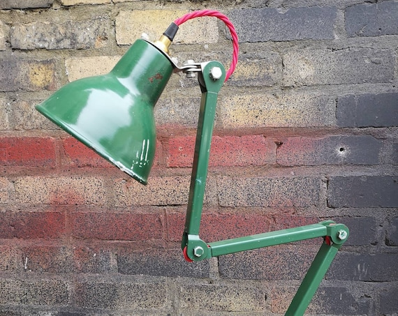 1950's British Made Task Lamp By EDL