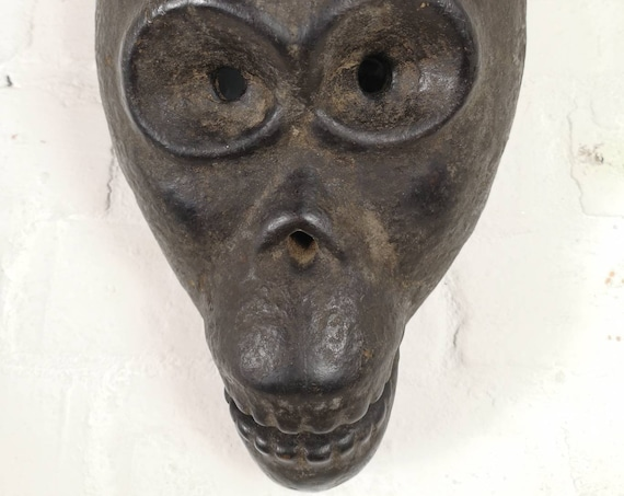 Early 1900s African Art Tribal Monkey Mask