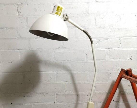 Vintage 1950s East German Industrial Task Lamp By Zweckleuchtenbau