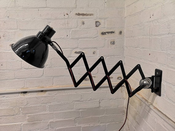 1930s Bauhaus Scissor Lamp By Pe ha We Leuchten PHW Germany