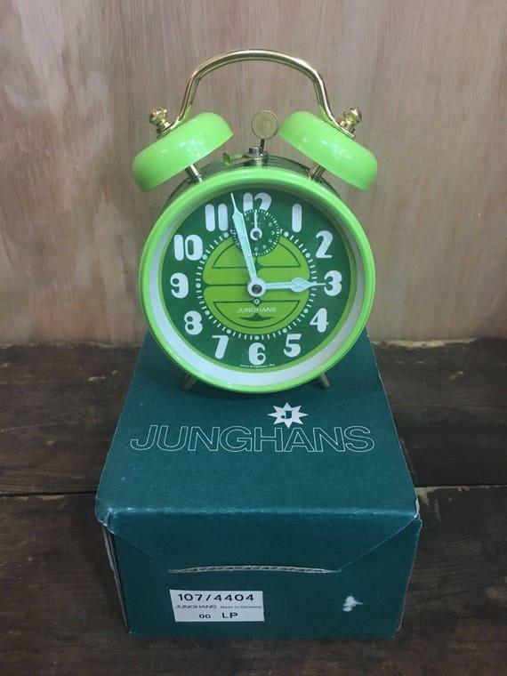 Junghans West German 1970's Wind Up Alarm Clocks