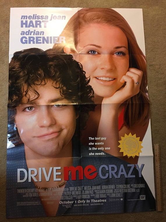 1999 Drive Me Crazy Original Movie Poster Used In Theaters