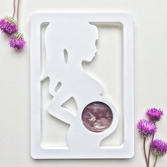 Ultrasound frame New Baby Frame New mom gift Gender Reveal | Etsy
