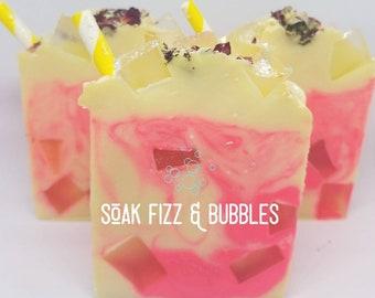 Rosewater Lemonade Soap