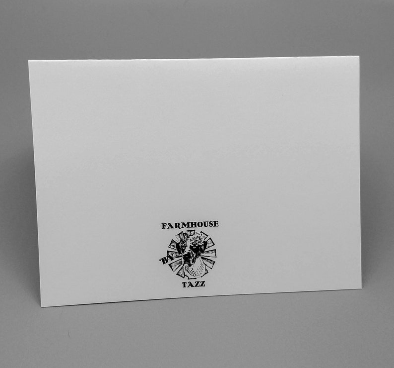 Farmhouse Sationery Set Free Shipping Goat Blank Greeting Cards 5-Goat Note Cards with Envelopes