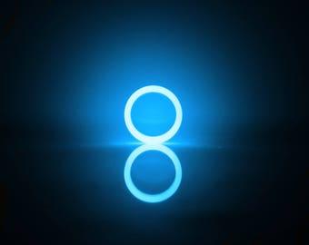 Blue Glow Ring