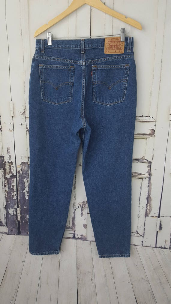 504550b3db7 Vintage Levi's 512's High waisted Levis Slim Fit Tapered Leg Mom ...