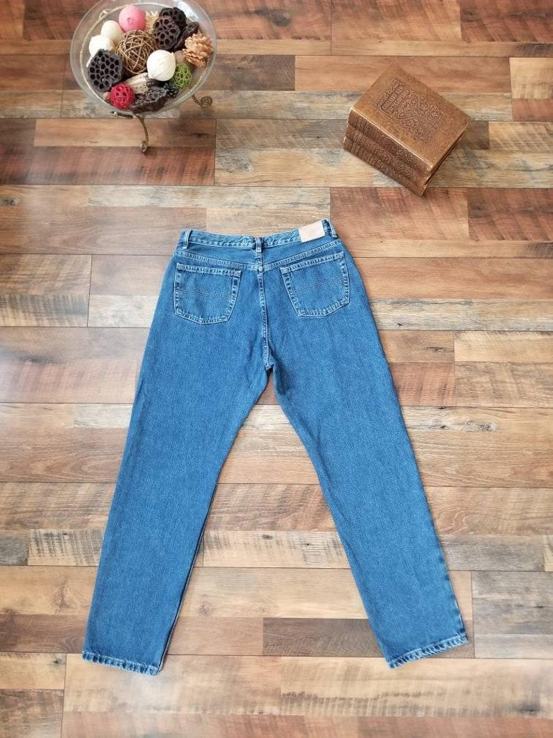 17344daa Vintage 90's Tommy Hilfiger Perfect Fit jeans Medium light | Etsy