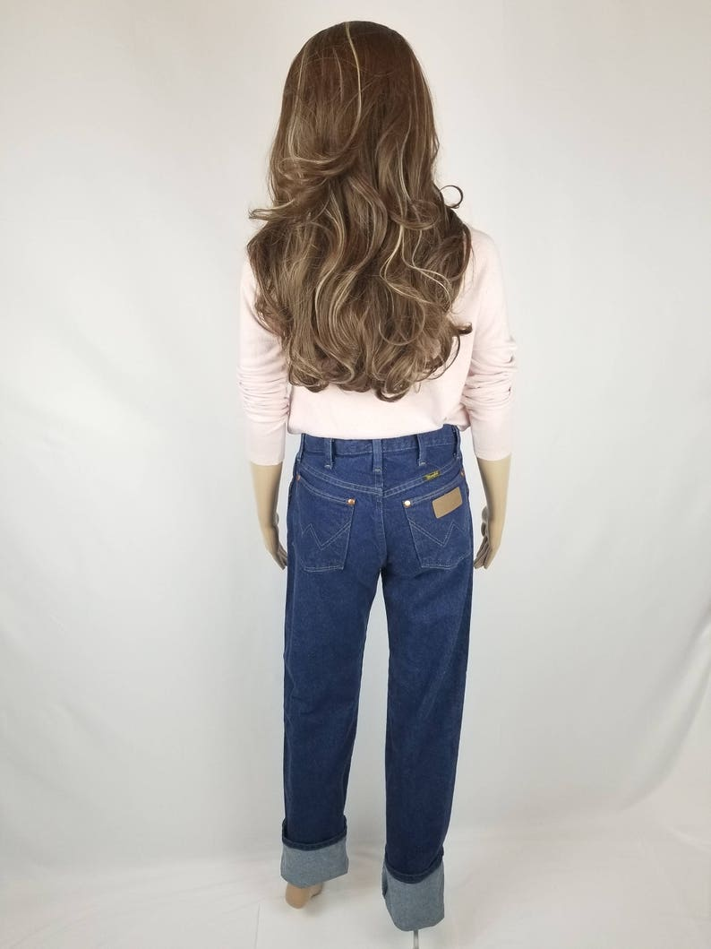 low price sale cheap the latest Wrangler Vintage Jeans, High Waisted, Slim Fit Straight Leg, Tall Long  Jeans // Women's Size 27 4 5 Small